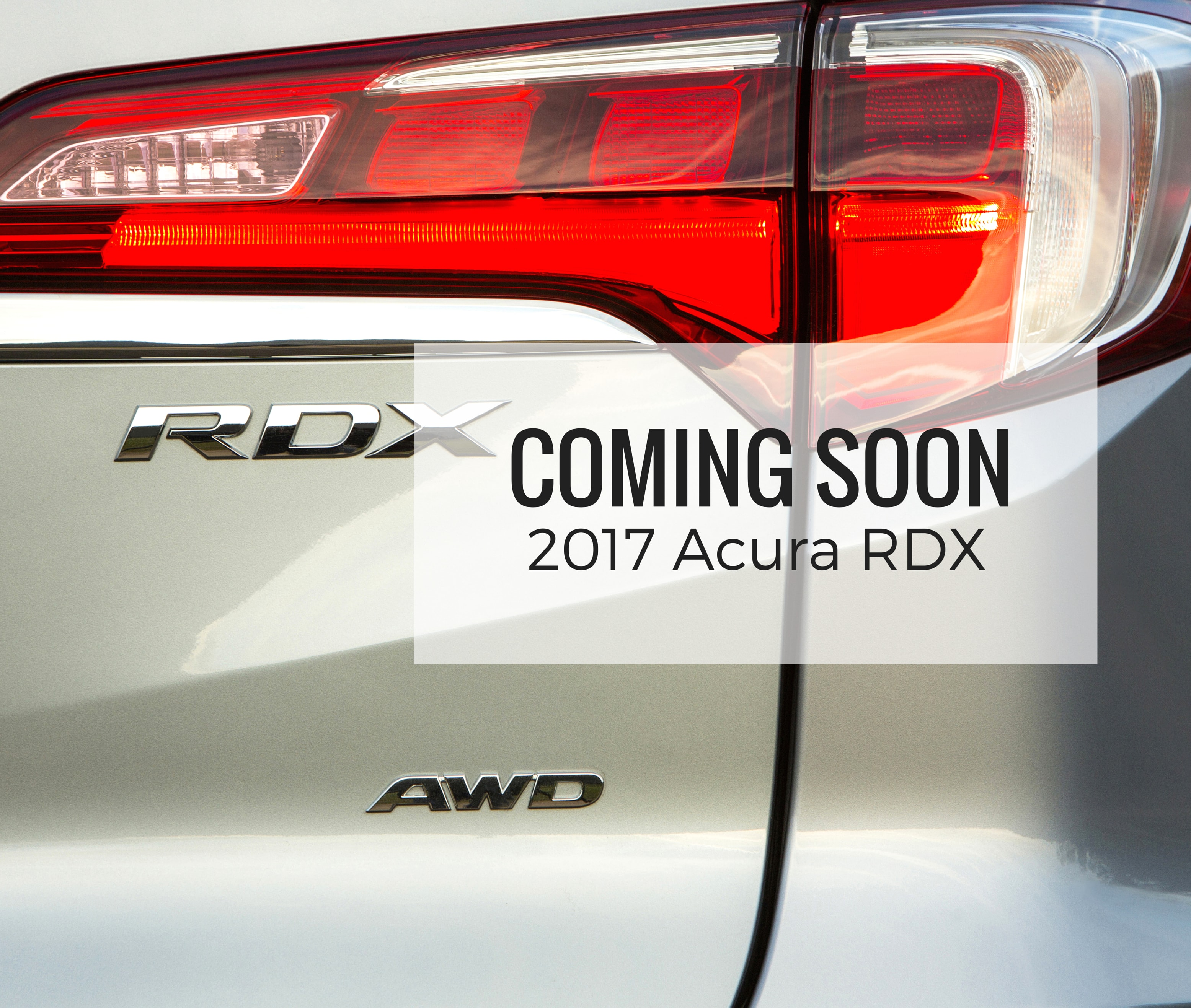 What You Need To Know About The 2017 Acura RDX