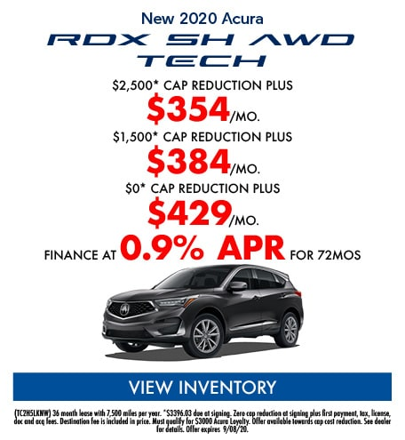 New 2020 Acura RDX SH AWD TECH