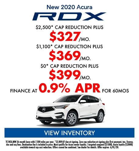 May- New 2020 Acura RDX