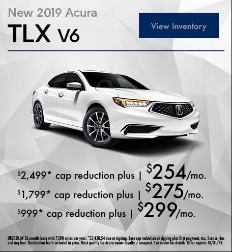September 2019 TLX Lease