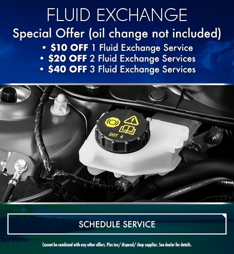 Fluid Exchange Special Offer
