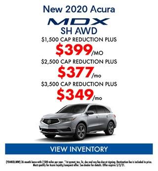 New 2020 Acura MDX SH AWD
