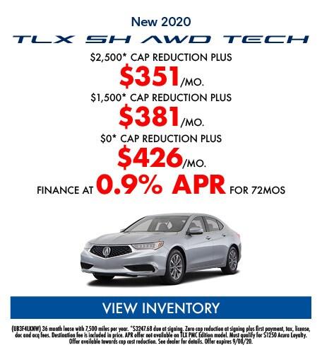New 2020 TLX SH AWD TECH