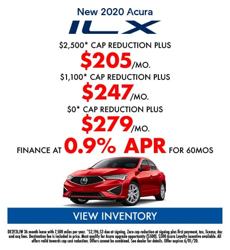May- New 2020 Acura ILX