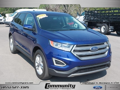 Used 2015 Ford Edge For Sale at Community Lincoln of
