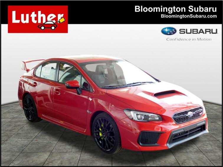 New 2018 Subaru WRX STI Limited w/Wing Sedan for sale in Bloomington, MN