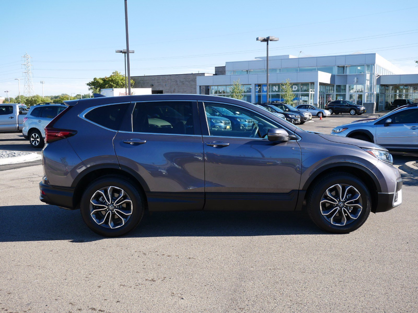 Used 2020 Honda CR-V EX-L with VIN 2HKRW2H89LH700814 for sale in Bloomington, Minnesota