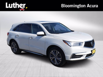 Featured Used 2018 Acura MDX w/Technology Pkg SUV for Sale near St. Paul, MN