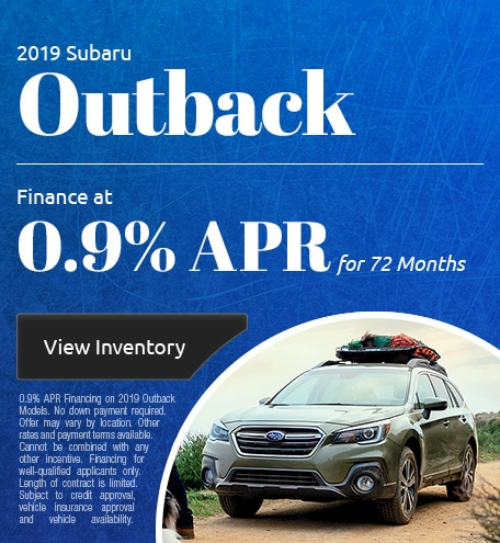 May 2019 Outback APR