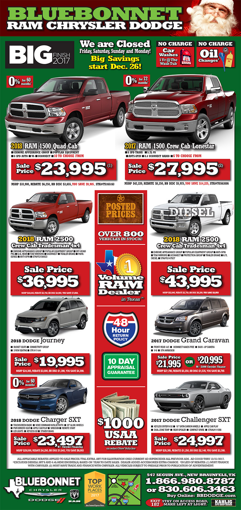 Check Out Bluebonnet Chrysler Dodge Newspaper Ad To See The Best