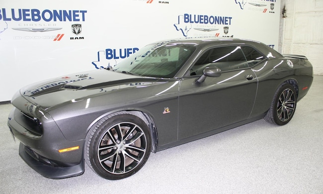 certified used 2018 Dodge Challenger R/T 392 Coupe near san antonio