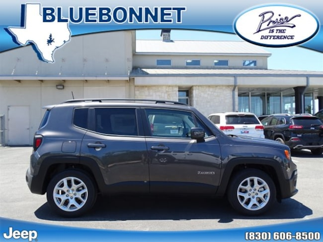 New 2018 Jeep Renegade LATITUDE 4X2 Sport Utility New Braunfels
