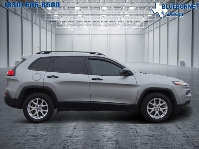 certified used 2015 Jeep Cherokee Sport FWD  Sport in new braunfels TX