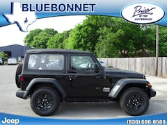 New 2019 Jeep Wrangler SPORT 4X4 Sport Utility for sale in New Braunfels, TX at Bluebonnet Jeep