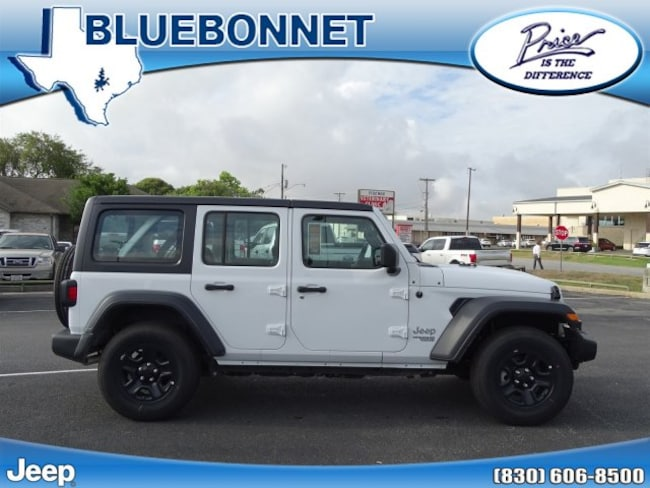 New 2018 Jeep Wrangler UNLIMITED SPORT 4X4 Sport Utility New Braunfels
