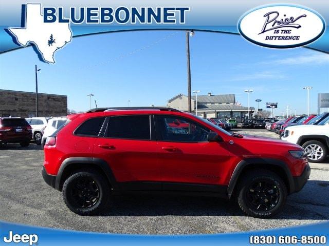 2019 Jeep Cherokee TRAILHAWK 4X4 For Sale New Braunfels TX |  VIN:1C4PJMBXXKD372891