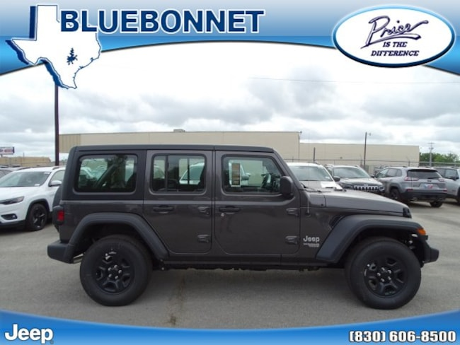 New 2019 Jeep Wrangler UNLIMITED SPORT 4X4 Sport Utility New Braunfels