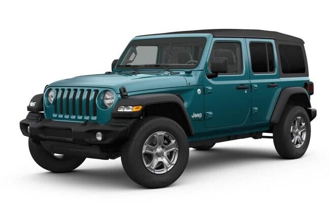 New 2019 Jeep Wrangler UNLIMITED SPORT S 4X4 Sport Utility New Braunfels