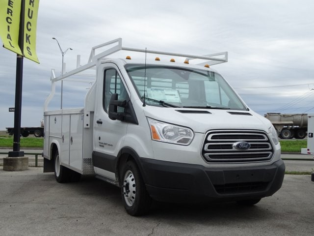 2019 Ford Transit Chassis Servive Body W T350HD T-350 DRW 138 WB 10360 GVWR