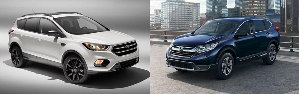 Captivating 2018 Ford Escape Vs. Honda CR V Comparison