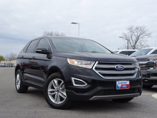 New 2018 Ford Edge Sel Fwd For Or Lease In Braunfels Tx