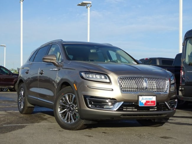 New 2019 Lincoln Nautilus Select FWD Select for sale or lease in Braunfels, TX