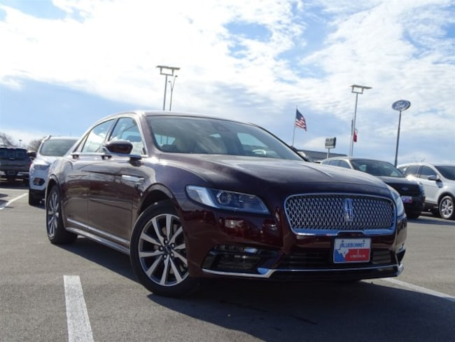 New 2019 Lincoln Continental Premiere FWD Premiere for sale or lease in Braunfels, TX