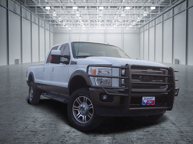 2015 Ford Super Duty F-350 SRW King Ranch King Ranch 4WD Crew Cab 156