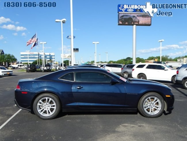 Used 2015 Chevrolet Camaro LT Coupe for sale or lease in Braunfels, TX