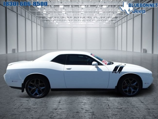 Certified Pre-Owned 2014 Dodge Challenger R/T Coupe for sale or lease in Braunfels, TX