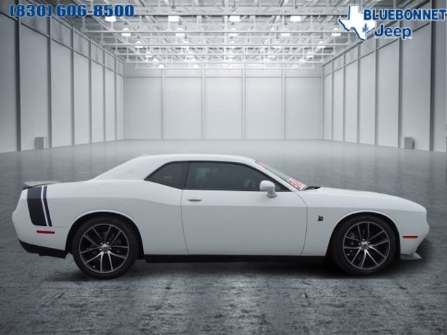 Certified Pre-Owned 2017 Dodge Challenger 392 Hemi Scat Pack Shaker Coupe for sale or lease in Braunfels, TX