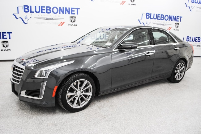 Used 2018 CADILLAC CTS Luxury RWD Sedan San Antonio TX