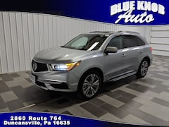 Pre-owned Vehicles for sale 2018 Acura MDX V6 SH-AWD with Technology Package SUV in Duncansville, PA