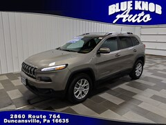 Used 2016 Jeep Cherokee Latitude 4x4 SUV for sale in Duncansville PA