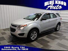 Pre-owned Vehicles for sale 2017 Chevrolet Equinox LS SUV in Duncansville, PA