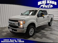 Buy a used 2018 Ford F-250 XLT Truck Crew Cab for sale in Duncansville PA
