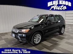 Used 2016 BMW X3 for sale in Duncansville PA