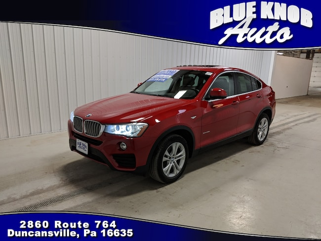 2016 BMW X4 xDrive28i Sports Activity Coupe