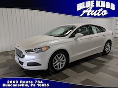 Buy a used 2016 Ford Fusion SE Sedan for sale in Duncansville PA