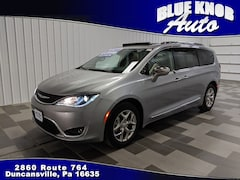 Buy a used 2019 Chrysler Pacifica Limited Van Passenger Van for sale in Duncansville PA