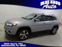 Used 2019 Jeep Cherokee Limited 4x4 SUV for sale in Duncansville PA