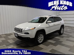 Used 2017 Jeep Cherokee Latitude 4x4 SUV for sale in Duncansville PA