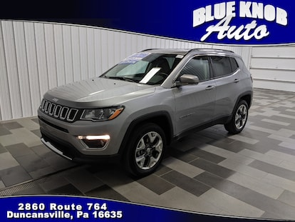 Used 2019 Jeep Compass For Sale In Duncansville Pa 3c4njdcb6kt619019