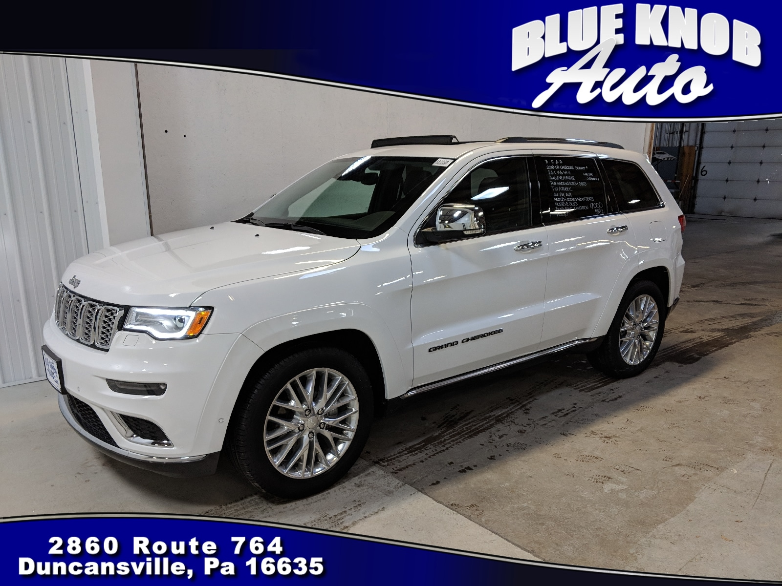used 2018 jeep grand cherokee for sale in duncansville, pa