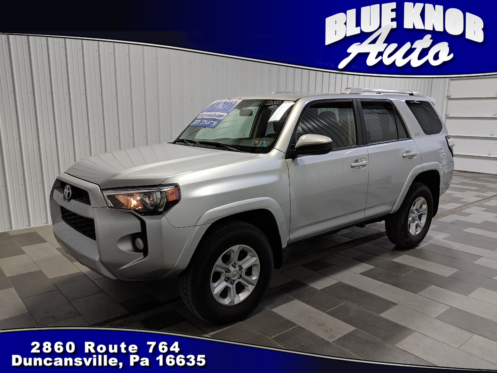2018 Toyota 4Runner – New Info: It Will Not Receive Big Changes >> Used 2018 Toyota 4runner For Sale In Duncansville Pa Jtebu5jrxj5544576