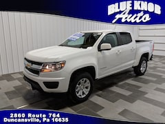 Buy a used 2019 Chevrolet Colorado LT Truck Crew Cab for sale in Duncansville PA