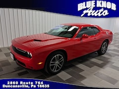 Buy a used 2019 Dodge Challenger SXT Coupe for sale in Duncansville PA