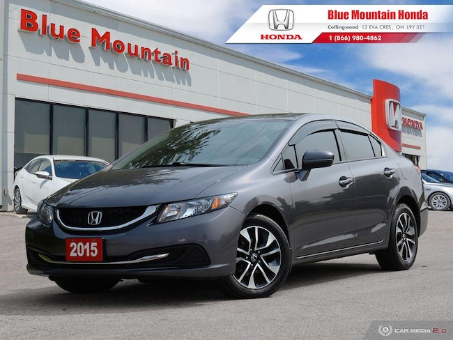 2015 Honda Civic EX Sedan    Sedan