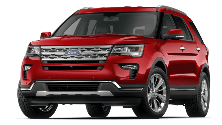 2019 Ford Explorer Limited - Ruby Red