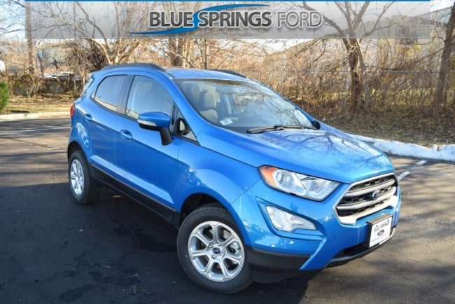 New 2018 Ford EcoSport SE SUV in Blue Springs, MO